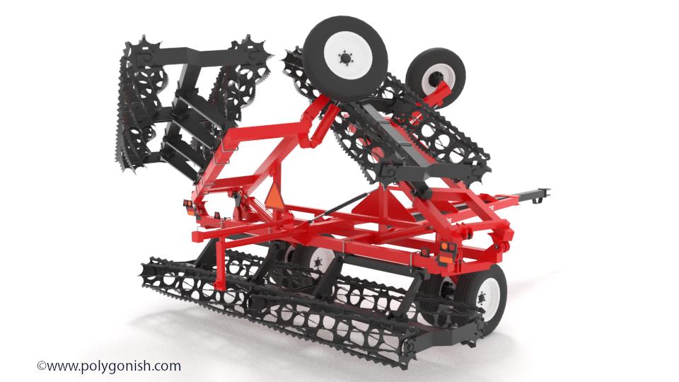 J&M TF212 32ft 3D Model