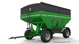 Brent 757 Gravity Wagon 3D Model