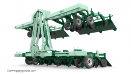 KMC 6800 Ripper-Bedder 3D Model