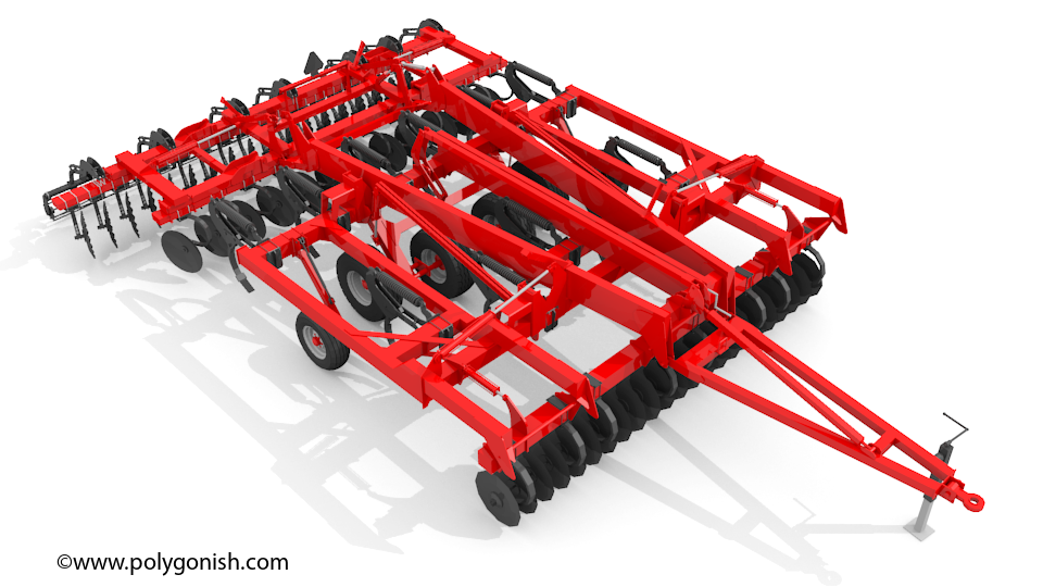 Kuhn krause 4855 3D Model