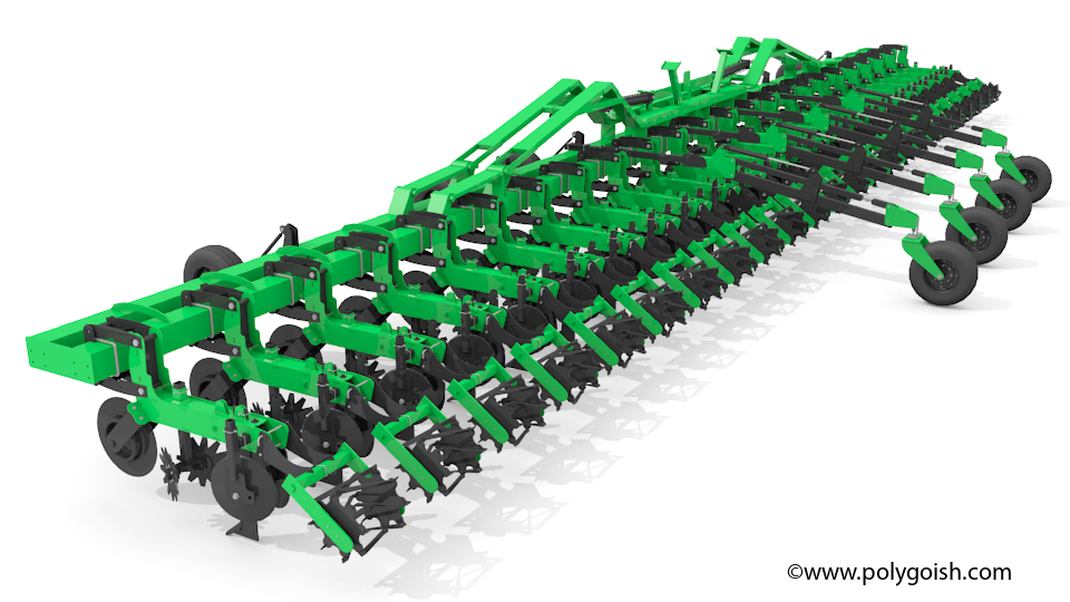 bigham super duty strip till 3D Model