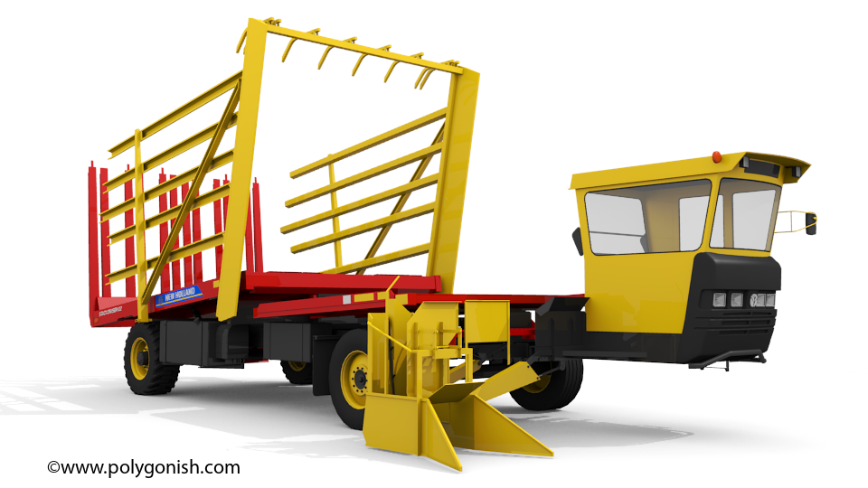 New Holland Stackcruiser 102 3D Model