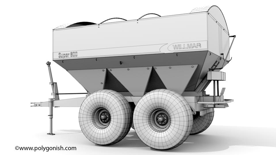 Willmar S800 3D Model