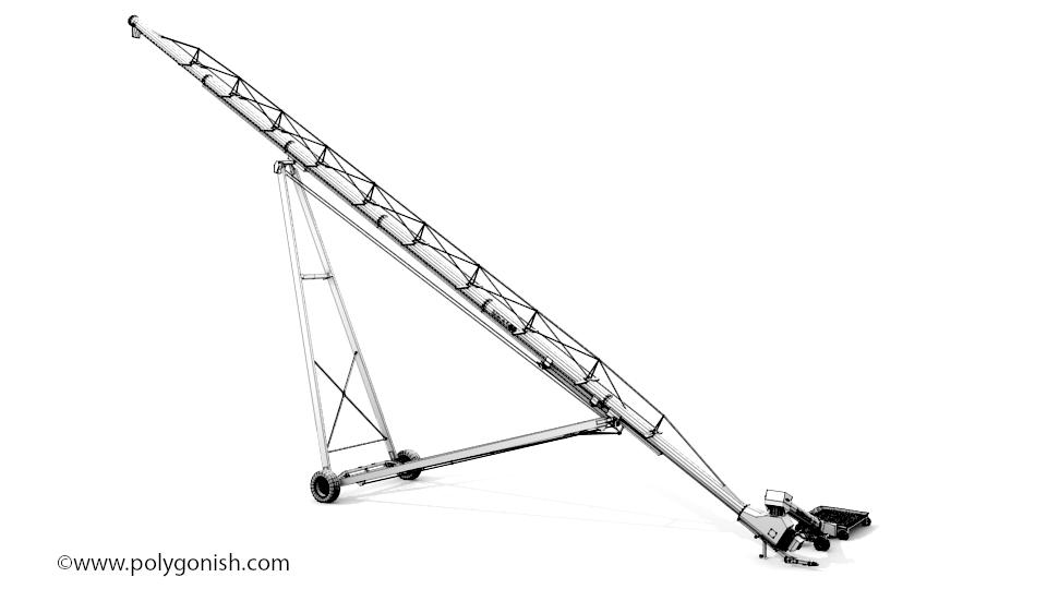 AGI Westfield MKX 160 3D Model