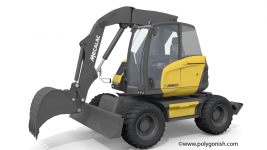 Mecalac 15MWR Excavator