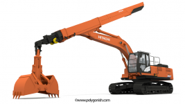 Hitachi ZAXIS 350 Telescopic Arm
