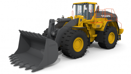 Volvo L350H Wheel Loaders 3D Model