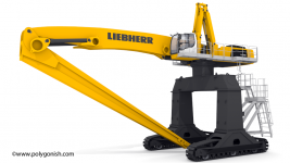 Liebherr LH 110 Gantry 3D Model