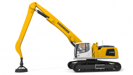 Liebherr LH 40 C 3D Model