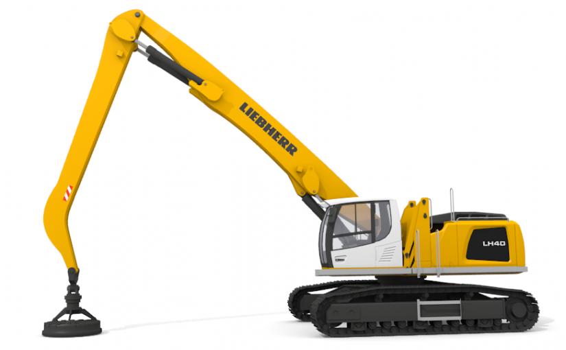 Liebherr LH 40 C 3D Model