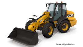 JCB TM320 Telescopic Wheel Loader 3D Model