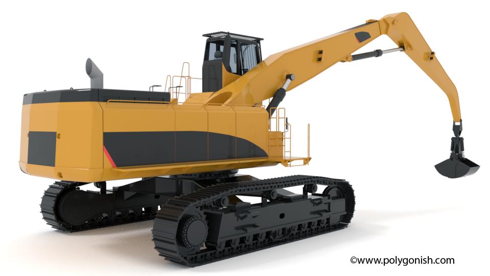 Material Handler 3D Model