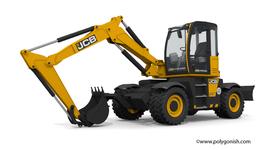 JCB 110W Hydradig Excavator 3D Model